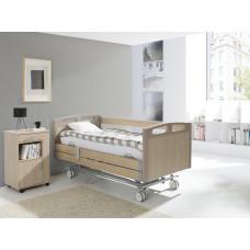4-х секционная электрическая функциональная кровать Vermeiren Luna DELUXE