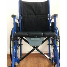 Кресло-коляска с санитарным оснащением Ortonica TU 55
