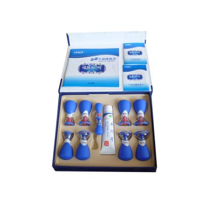 Вакуумные банки HACI Deluxe 10 шт. с магнитами Хаси