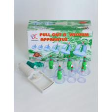 Банки для вакуумного массажа с магнитами (JK-11) 6 шт. в упаковке