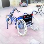 Продаются кресло-коляска + велопривод Искра