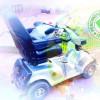 Китайский скутер отправляется на покорение Сакских дорог
