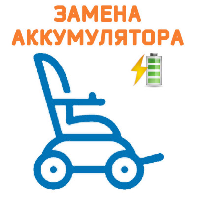 Замена аккумуляторов и покрышек на Meyra Clou