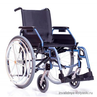 Механическая коляска Base 195 H c устройством для управления одной рукой.
