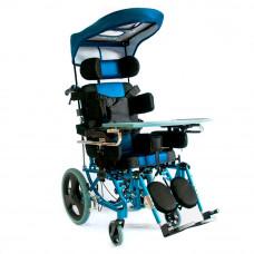 Кресло-коляска Мега-Оптим FS958LBHP-32 (C КАПОРОМ)