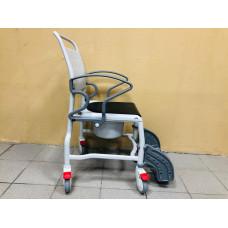 Кресло-стул с санитарным оснащением Rebotec Бонн (черно/белый)