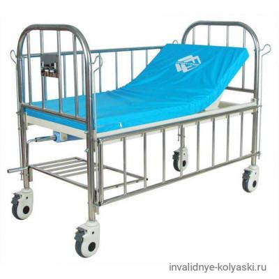 Кровать c механ.приводом 45-097mini,1 функц. подростковая (с матрасом)