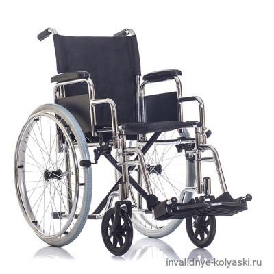 Кресло-коляска Ortonica Base 130 с хромированной рамой