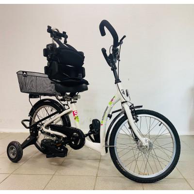 Велосипед Schuchmann Momo (белый) для детей с ДЦП