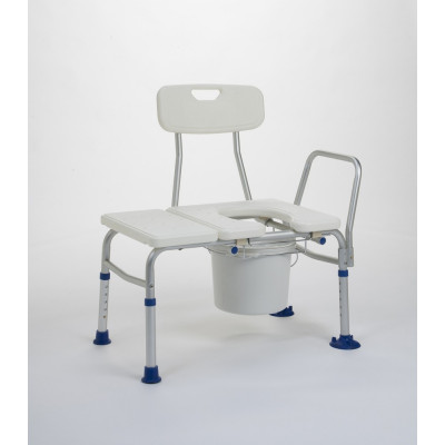Стул - скамейка с санитарным оснащением для ванной Vermeiren Katy