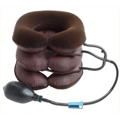 Воротник для шеи с тремя трубками (флок + ткань) «Лечебный воротник»